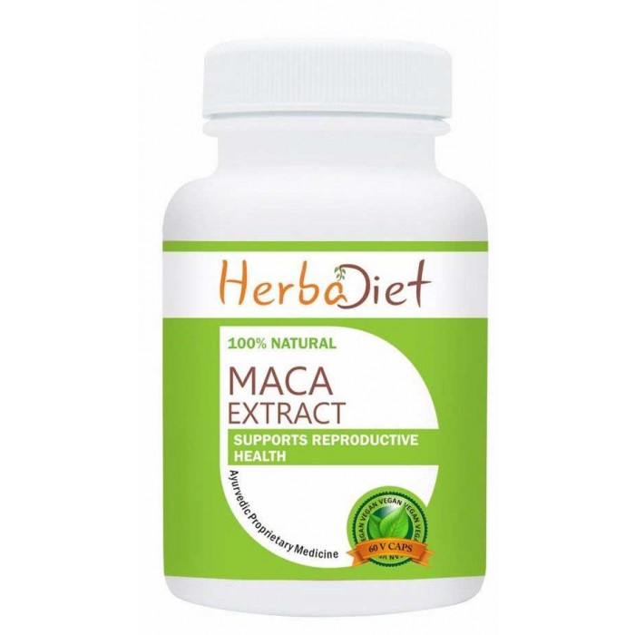 Maca Root Extract 60 500mg Capsules for Women Breast Enchance & Men