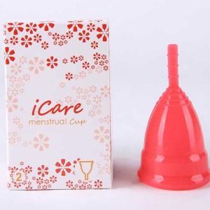 Menstrual Cup Reusable Silicone Menstruation Period