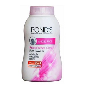 Pond's Angel Face powder for Pinkish White glow.  Magic Powder Oil And Blemish Control 50 gr.