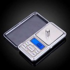 Pocket Sized Digital Electronic Scale for Weight up to 500g
