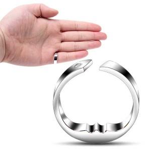 Anti Snore Ring Titanium Steel / Acupressure Sleeping Aid / Stop Snoring