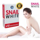 SNAIL WHITE SOAP GLUTATHIONE X10 WHITENING SKIN/REDUCE ACNE/ANTI AGING