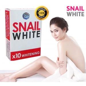 SNAIL WHITE SOAP GLUTATHIONE X10 WHITENING SKIN/REDUCE ACNE/ANTI AGING