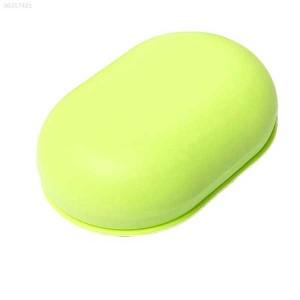 Soap case blue/lime/pink color Travel case
