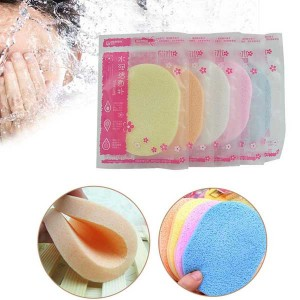Face Wash Cleansing Sponge Puff Pad Makeup Remover